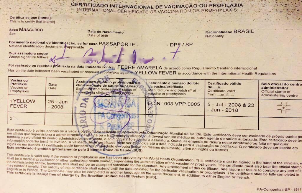 certificado-internacional-de-vacinação-anvisa-de-febre-amarela