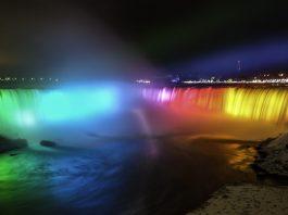 Niagara Falls no inverno