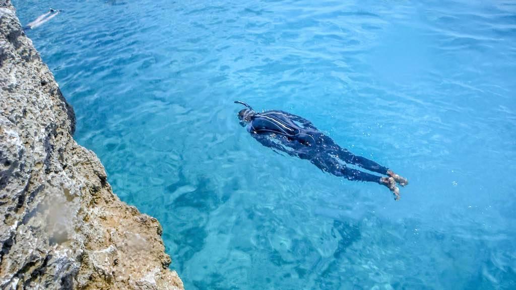 Mar Azul de San Andrés