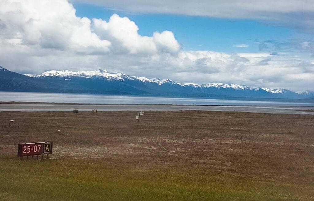 chegada-aeroporto-ushuaia -patagônia