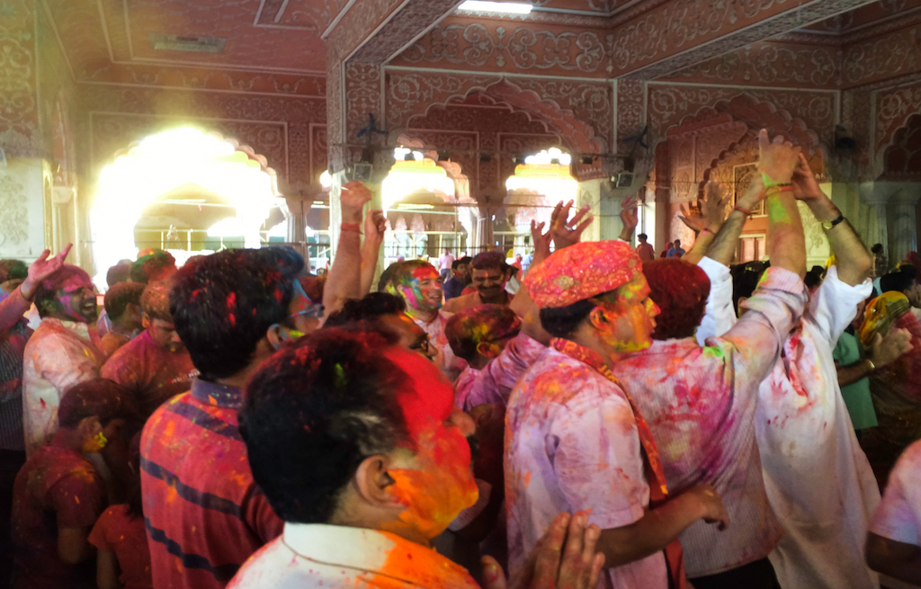 govind-devji-temple-holi-india